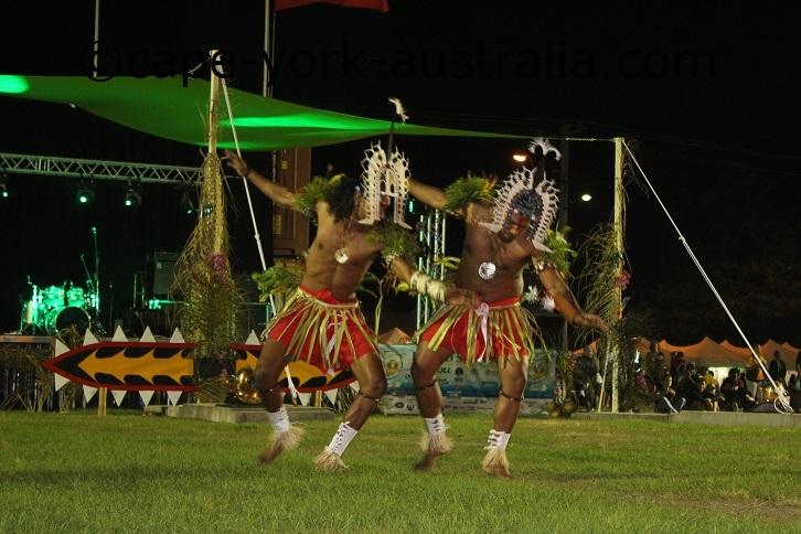 murray island dancers