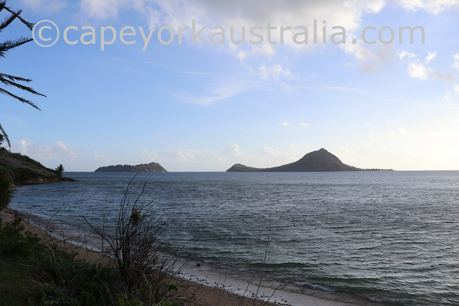 murray island western beach islands