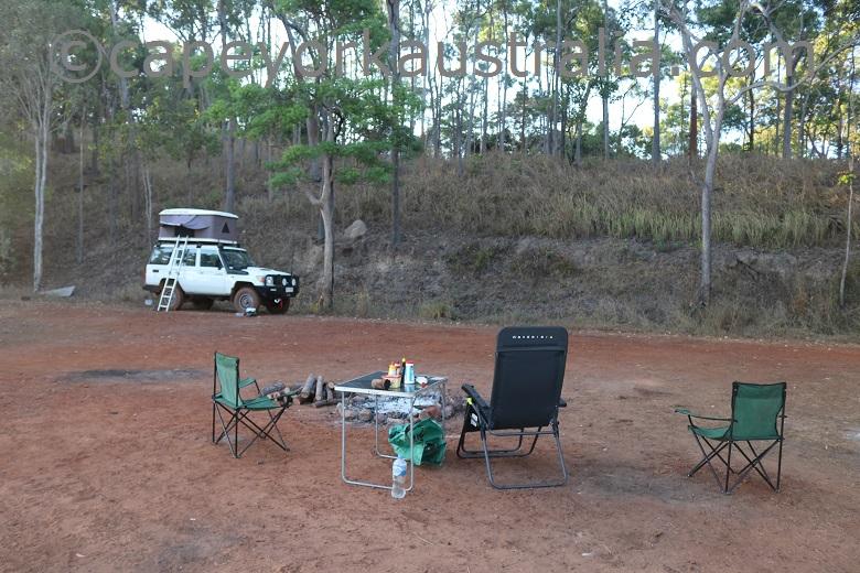 mutee head camping