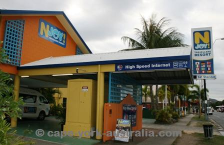njoy backpackers resort cairns
