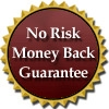 no risk money back guarantee