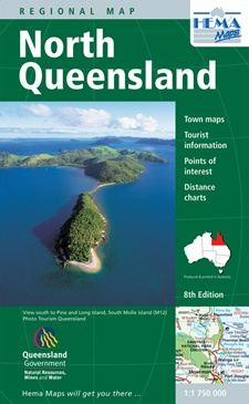 north queensland maps