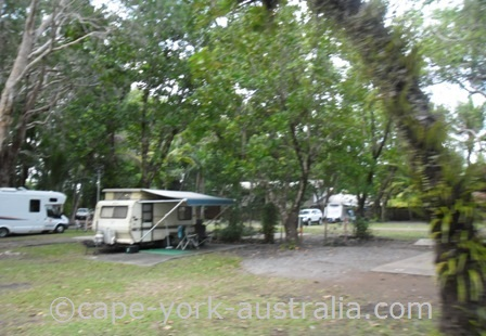 pandanus caravan park port douglas