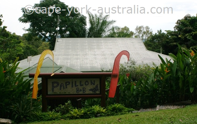 papillon bed and breakfast mossman