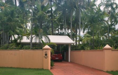 paradise villa bed and breakfast port douglas
