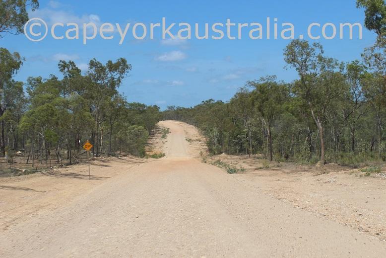 pormpuraaw road dip