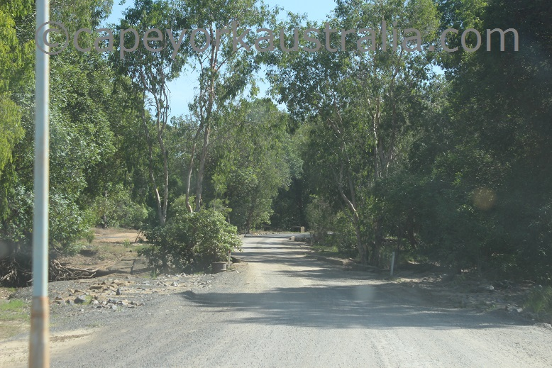 pormpuraaw to kowanyama bridge