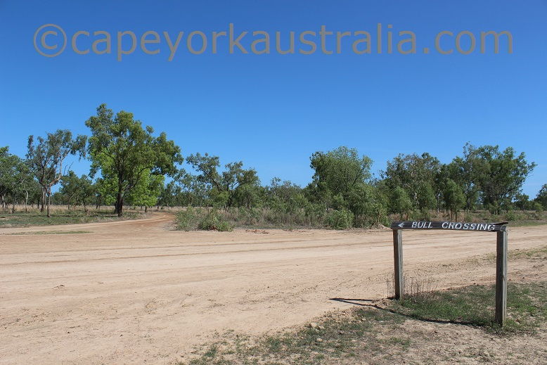 pormpuraaw to kowanyama bull crossing turnoff