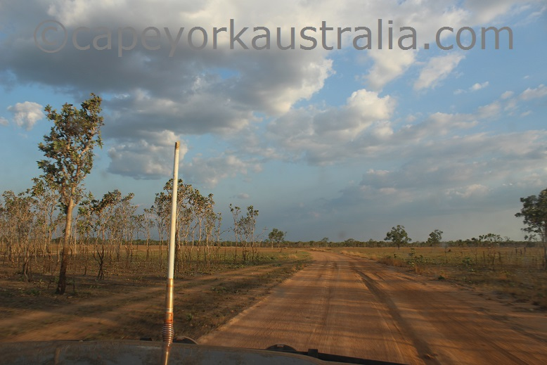 pormpuraaw to kowanyama narrow road