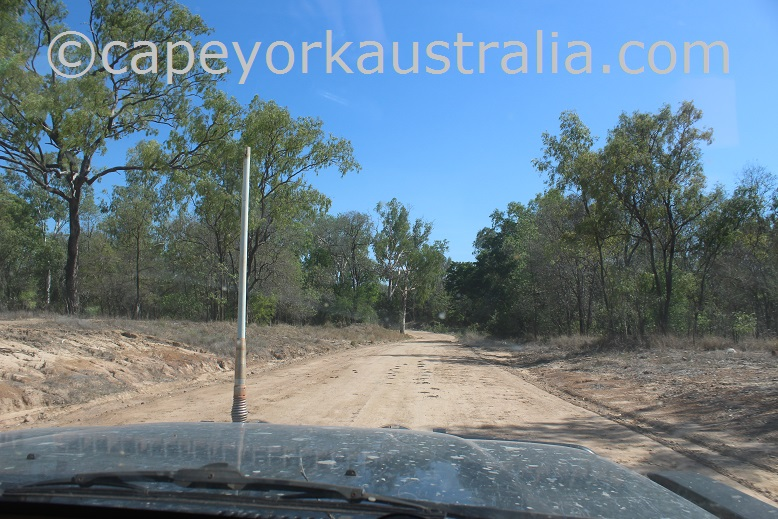 pormpuraaw to kowanyama road better