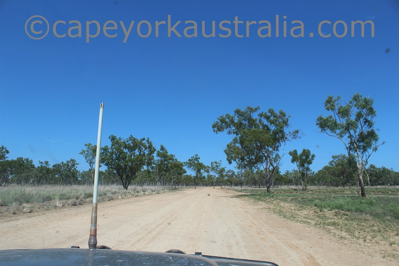 pormpuraaw to kowanyama road works