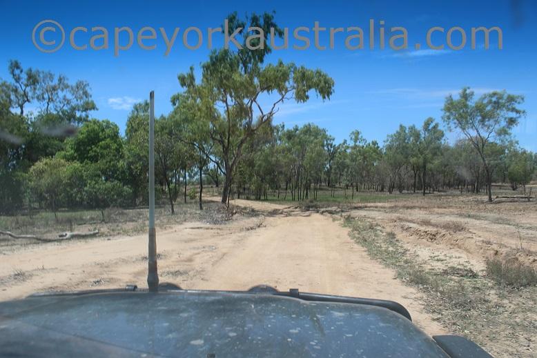 pormpuraaw to kowanyama track back