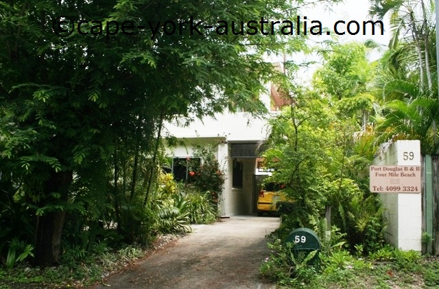 port douglas bed and breakfast four mile beach