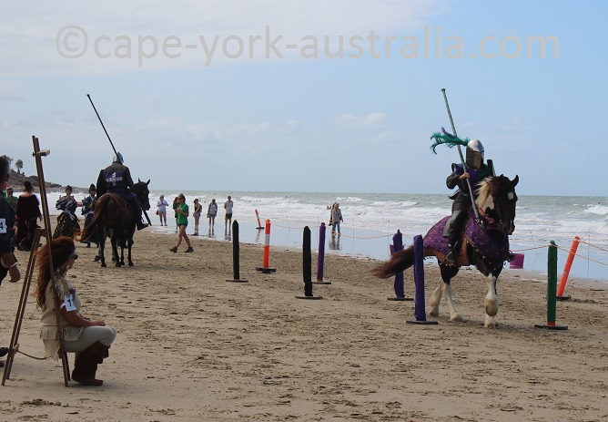 port douglas carnivale medieval jousting