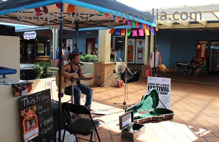 port douglas street art and music festival