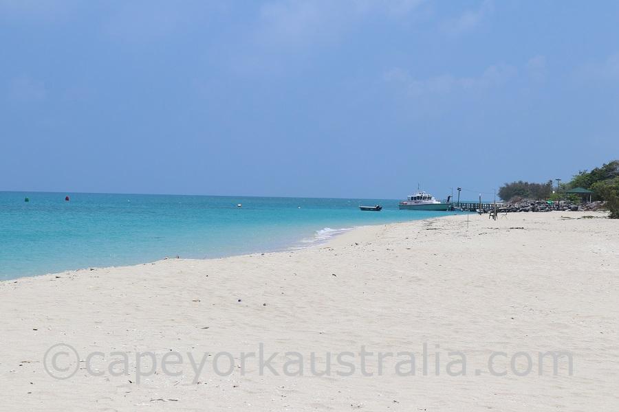 poruma island beach walk