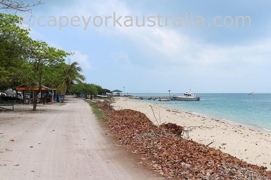poruma island jetty