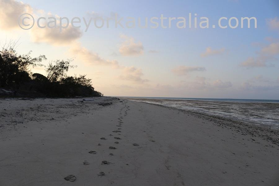 poruma island north east beach