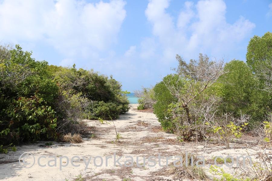 poruma island north tracks