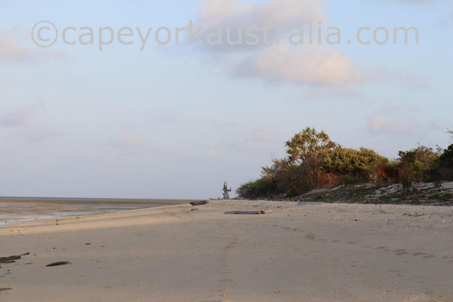 poruma island northern beach walk