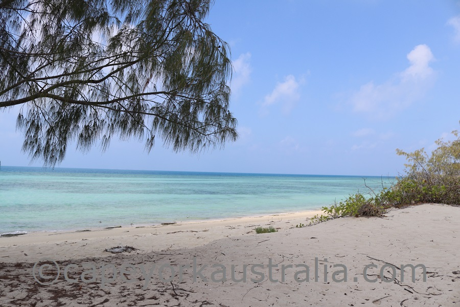 poruma island northern beach