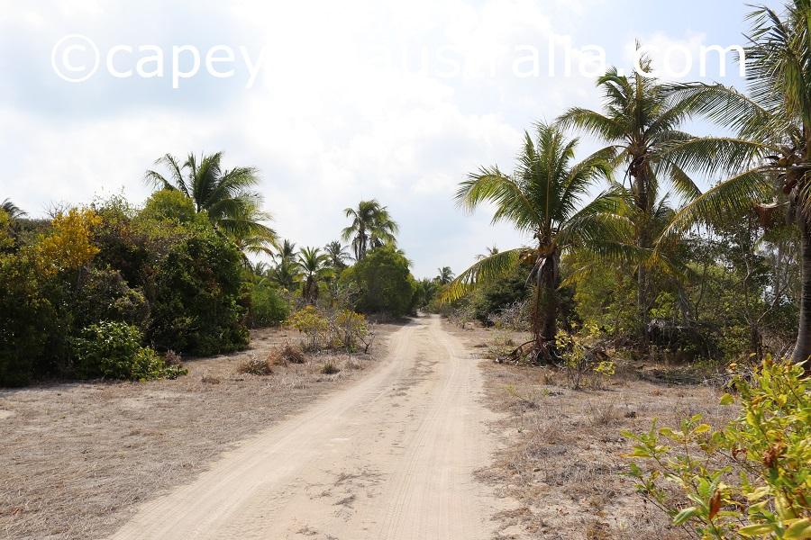 poruma island northern tracks