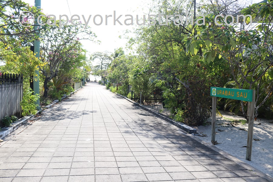 poruma island street