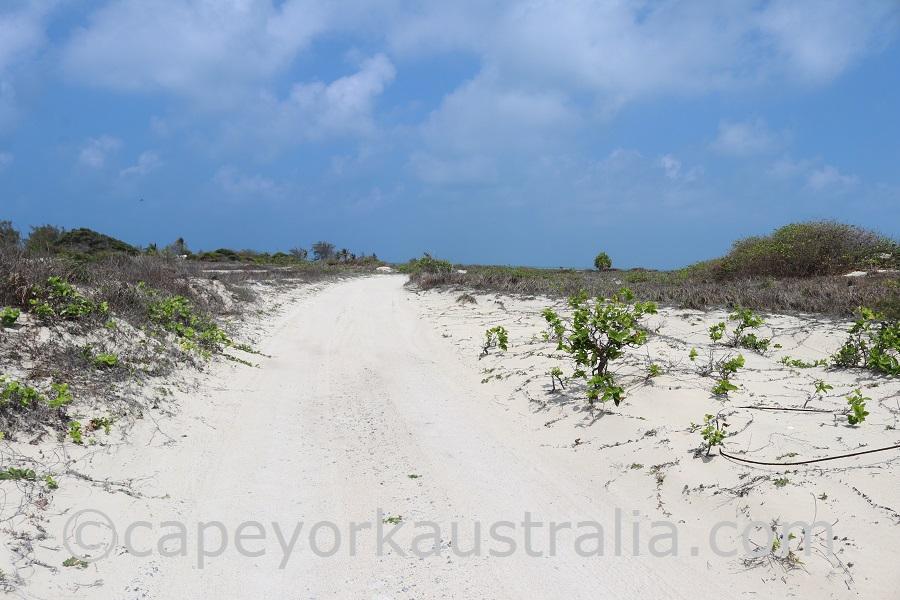 poruma island track
