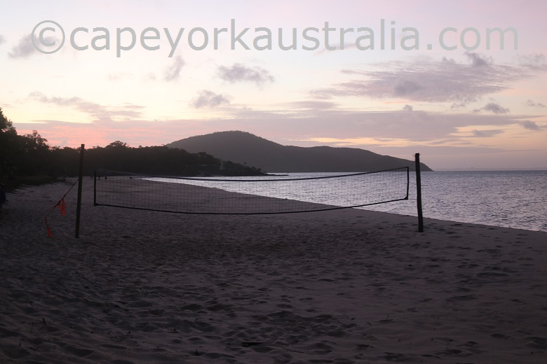punsand bay beach volleyball
