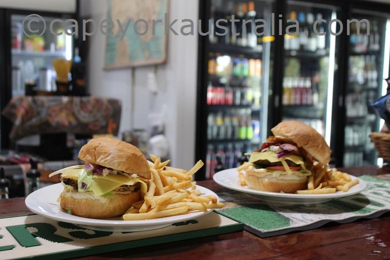 punsand bay meals burgers