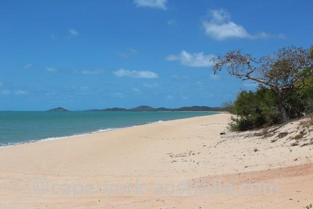 punsand bay resort beach