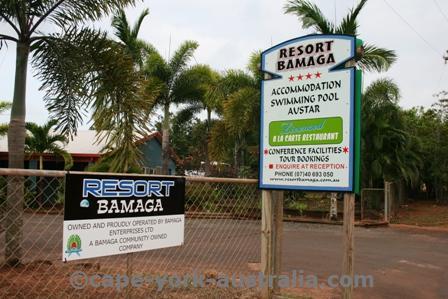 resort bamaga