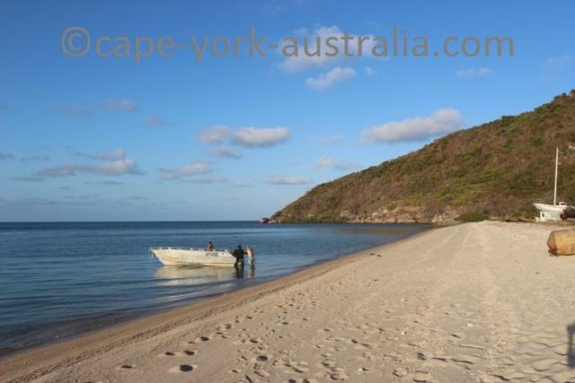 restoration island beach