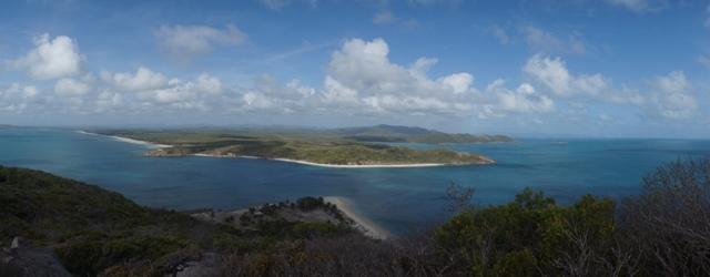 restoration island views