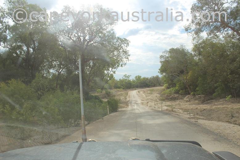 road to kowanyama creeks