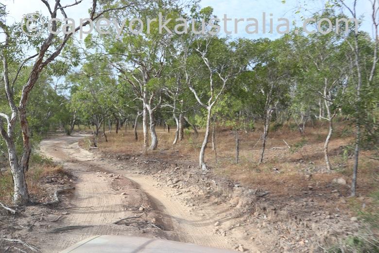 roma flats crocodile creek track hilly