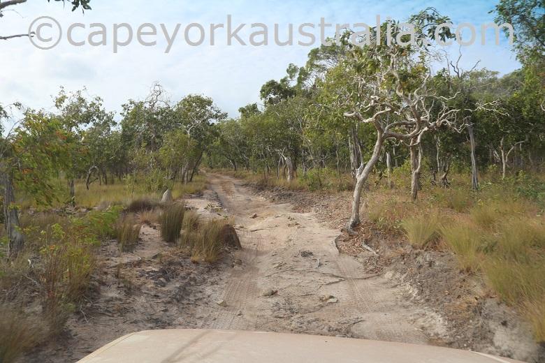 roma flats crocodile creek track rough