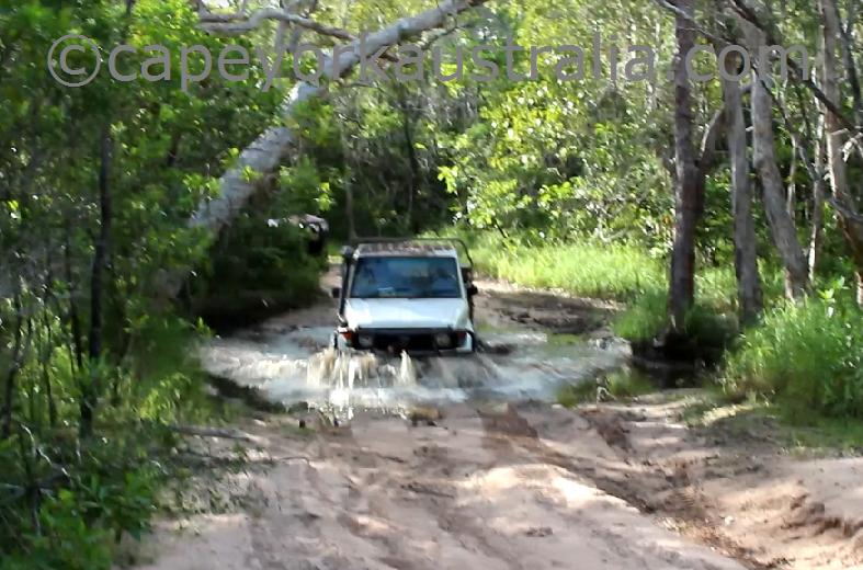roma flats track first creek crossing