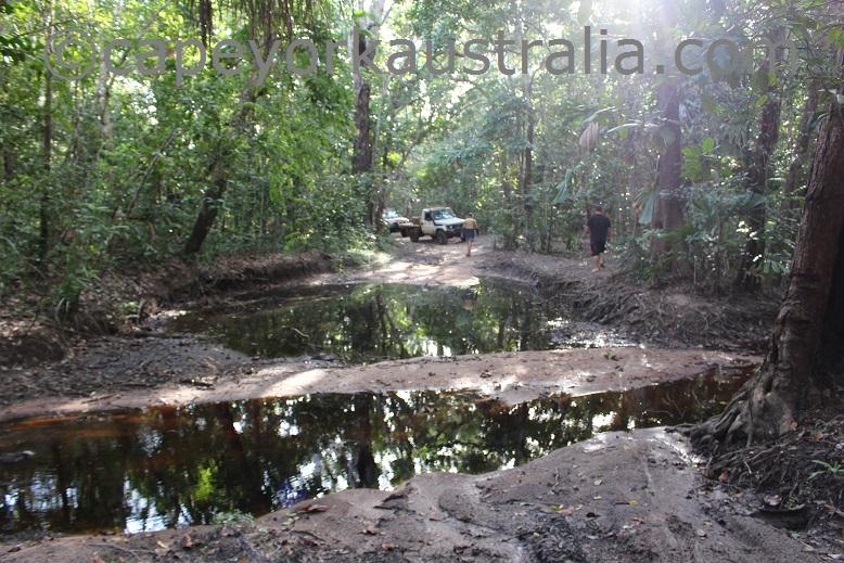 roma flats track first creek wet season