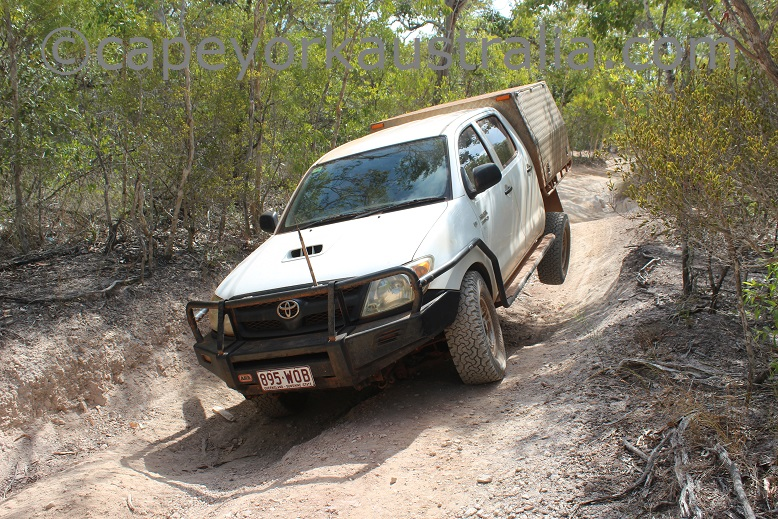 roma flats track four wheel driving