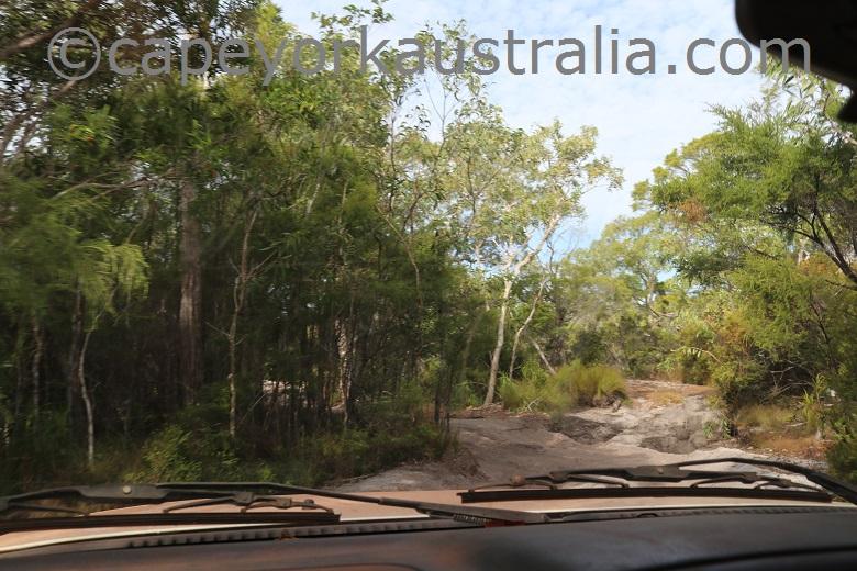 roma flats track second creek dry season