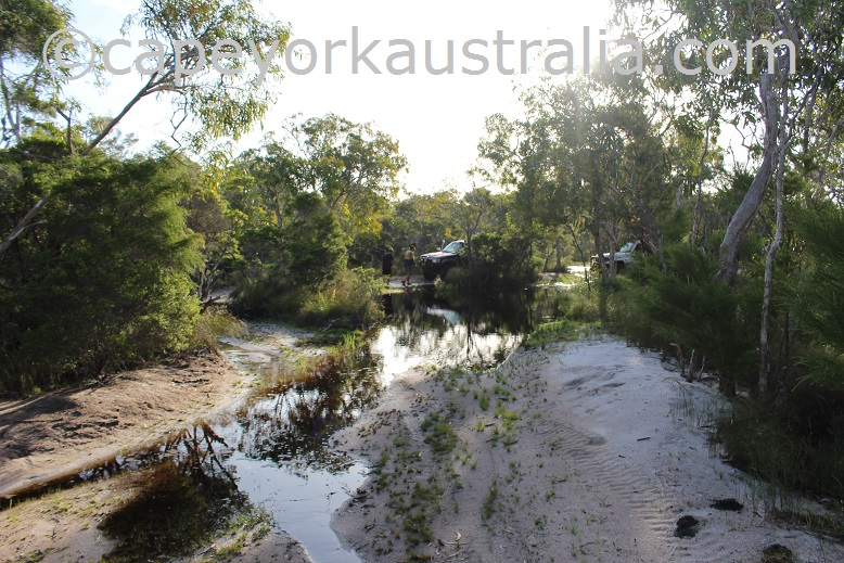roma flats track second creek