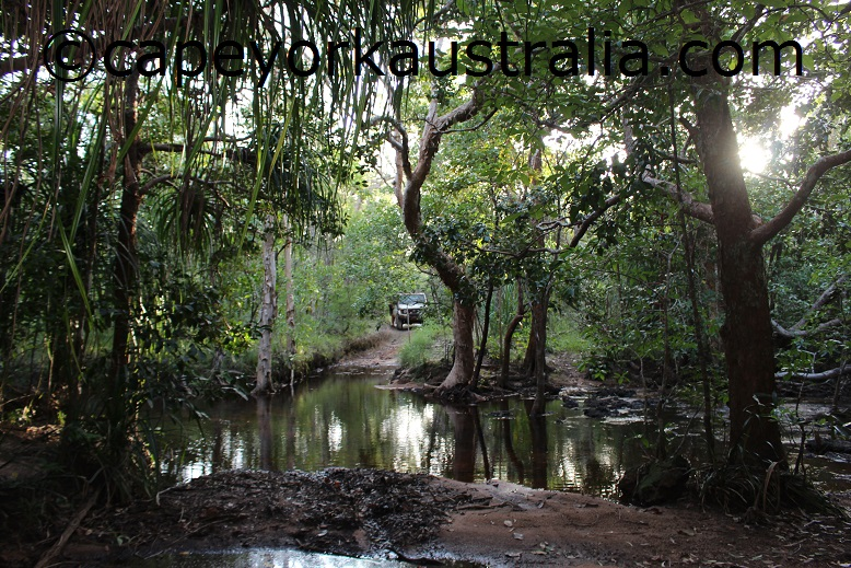 roma flats track third creek wet season
