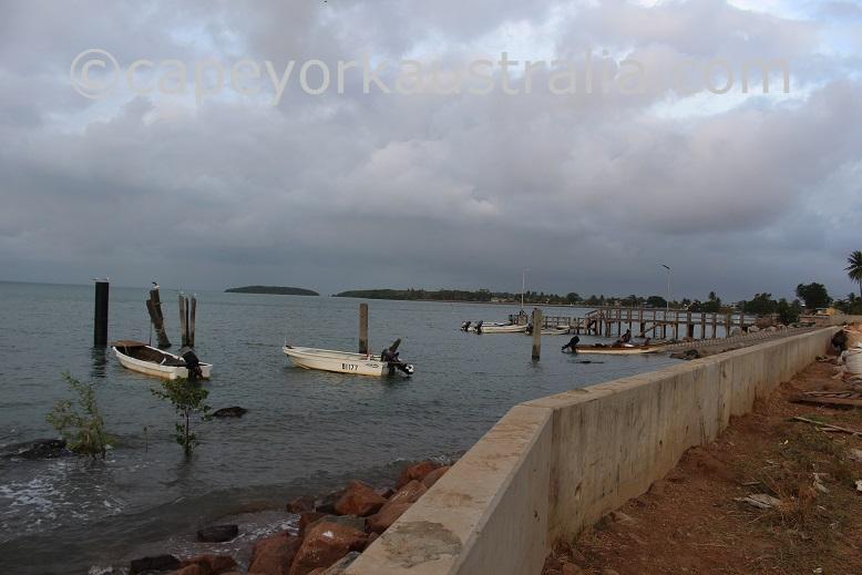 saibai island barge ramp