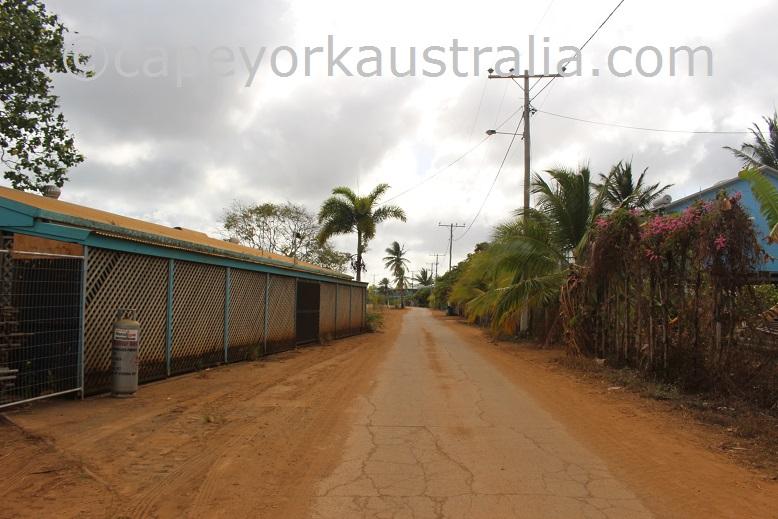 saibai island main street