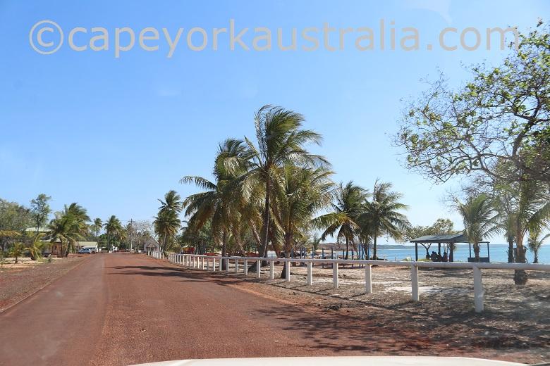 seisia beachfront street