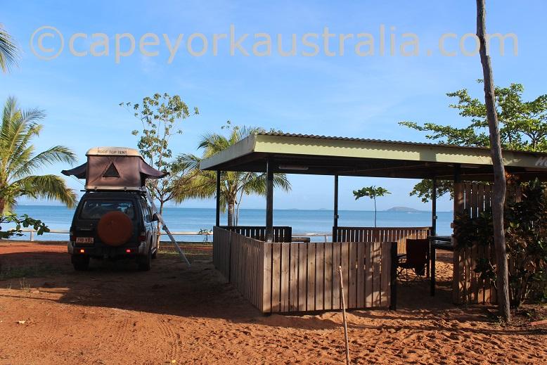 seisia camping ground hut