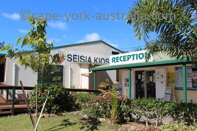 seisia camping ground reception