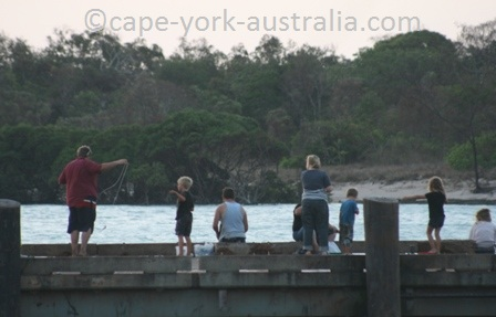 seisia wharf fishing