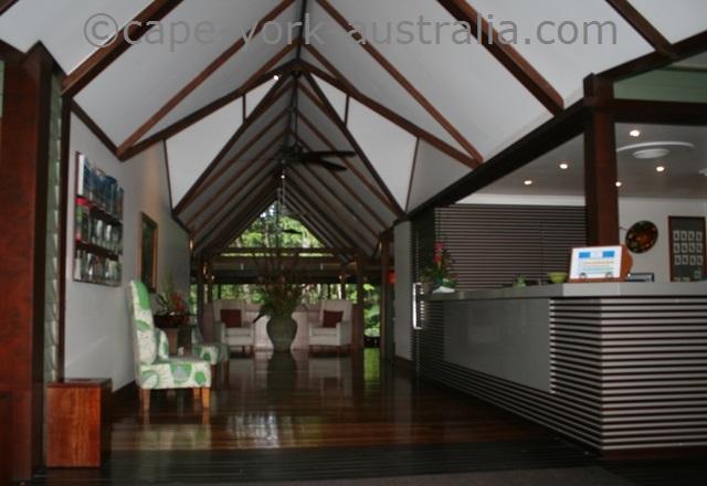 silky oaks lodge reception